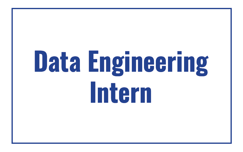 Data Engineering Intern