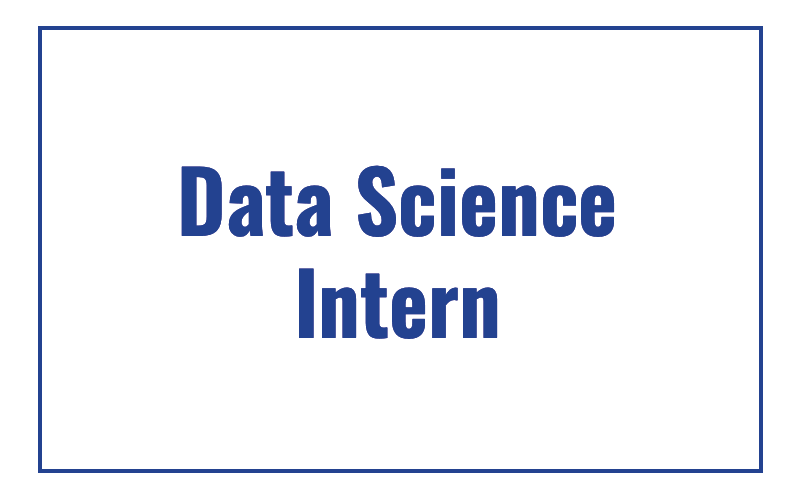Data Science Intern